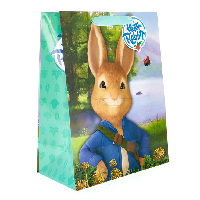 Medium Portrait Peter Rabbit Gift Bag