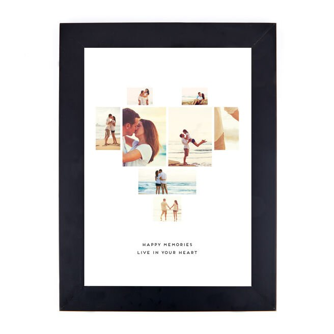 Personalised Valentine's Photo Print - Happy Memories
