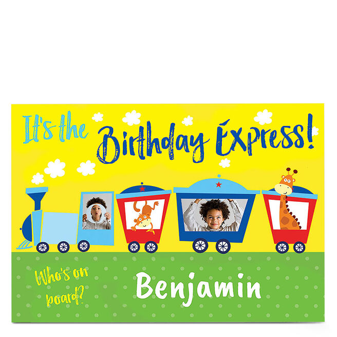 Photo Birthday Card - Birthday Express