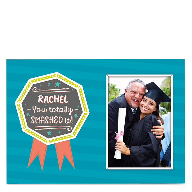 Photo Graduation Card - You Totally Smashed It!