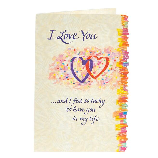 Blue Mountain Arts Card - I Love You
