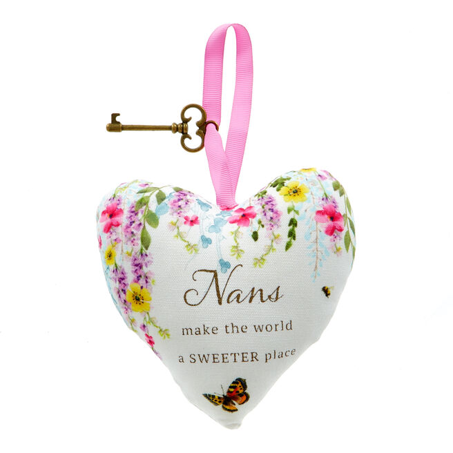 Nan Lavender Scented Hanging Heart
