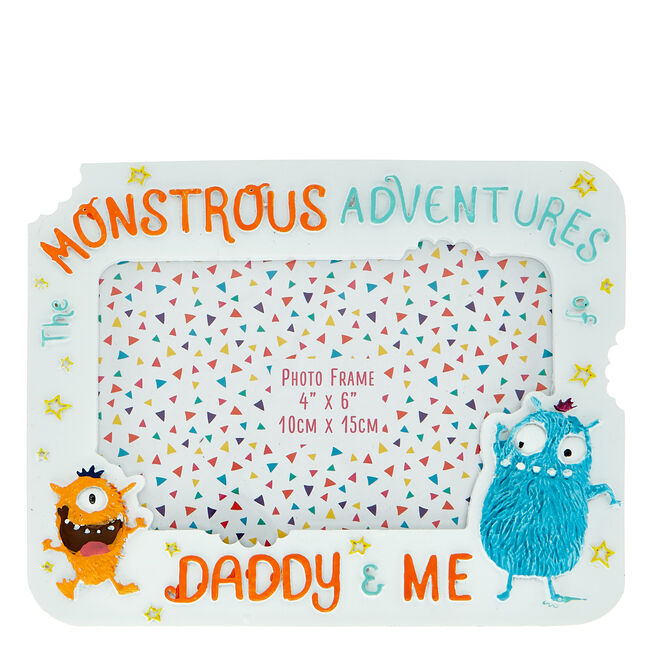 Monstrous Adventures Daddy & Me Photo Frame