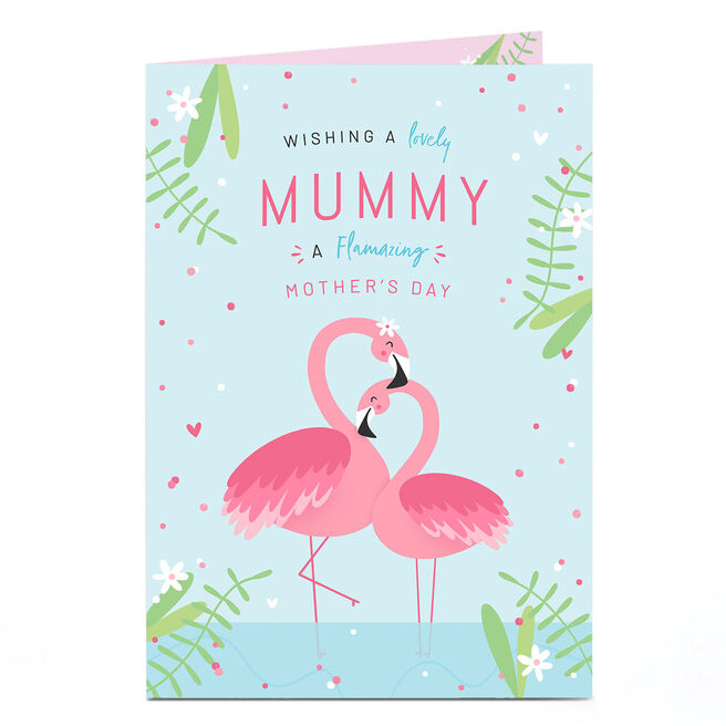 Personalised Mother's Day Card - Flamazing