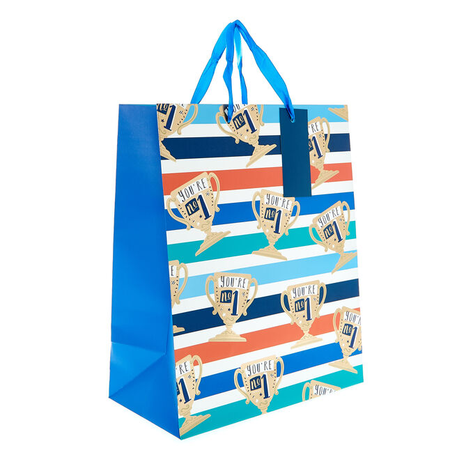 Medium Portrait Gift Bag - Trophies