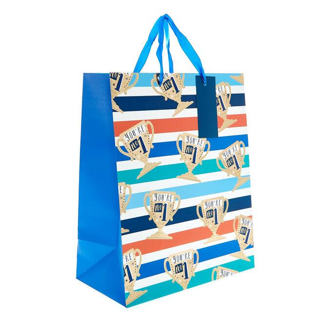 Medium Portrait Gift Bag - Trophies