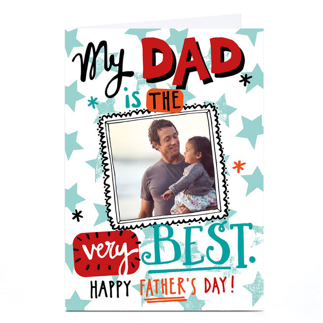 Photo Bev Hopwood Father's Day Card - Dad, The Very Best