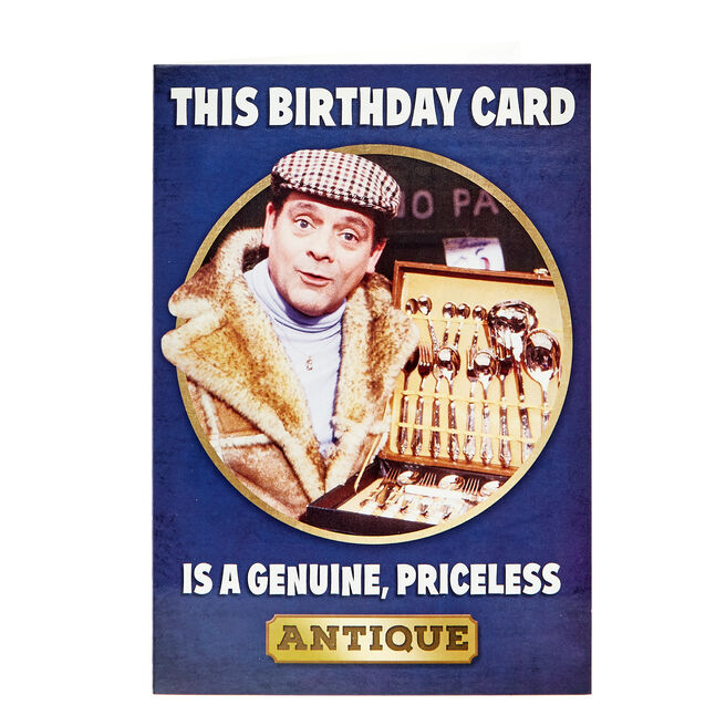 Only Fools & Horses Birthday Card - Priceless Antique
