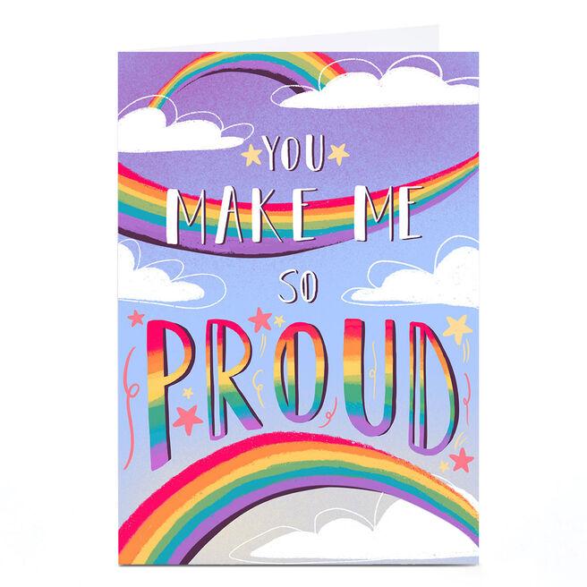Personalised Raluca Farcas Card - Make Me So Proud