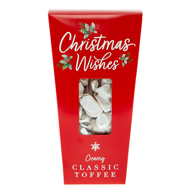 Christmas Wishes Creamy Classic Toffee