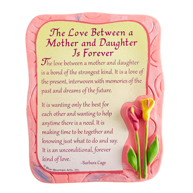 Blue Mountain Arts Magnet - The Love Between A Mother & Daughter