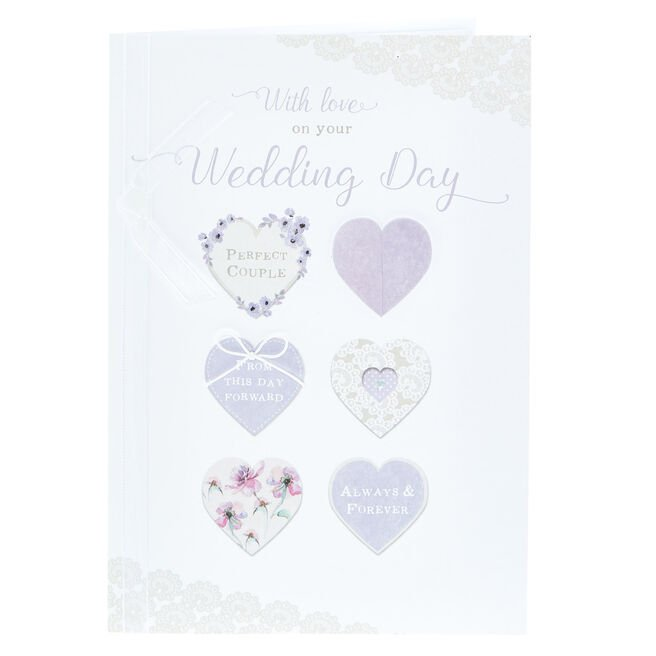 Wedding Card - With Love, Perfect Couple