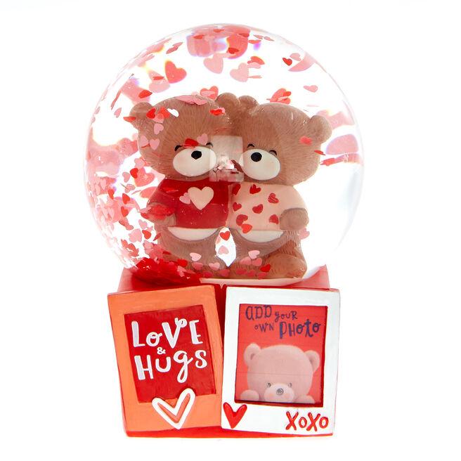 Hugs Bear Light-up Water Ball With Photo Slot