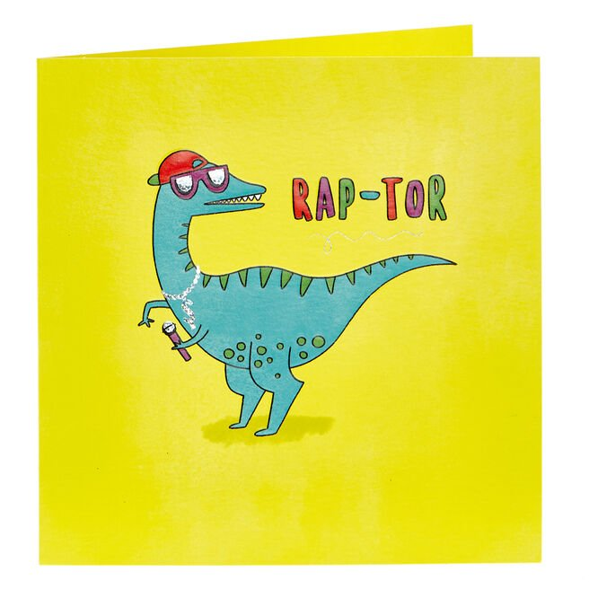Any Occasion Card - Rap-Tor