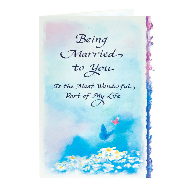 Blue Mountain Arts Card - Being Married To You