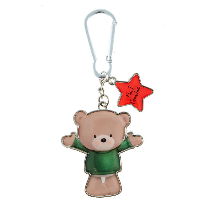 Hugs Bear No. 1 Grandad Keyring