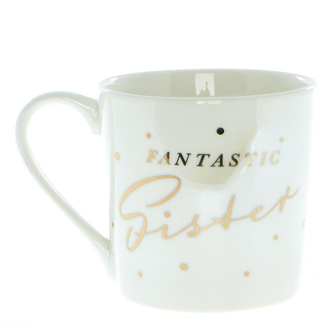 Fantastic Sister Mug In A Box