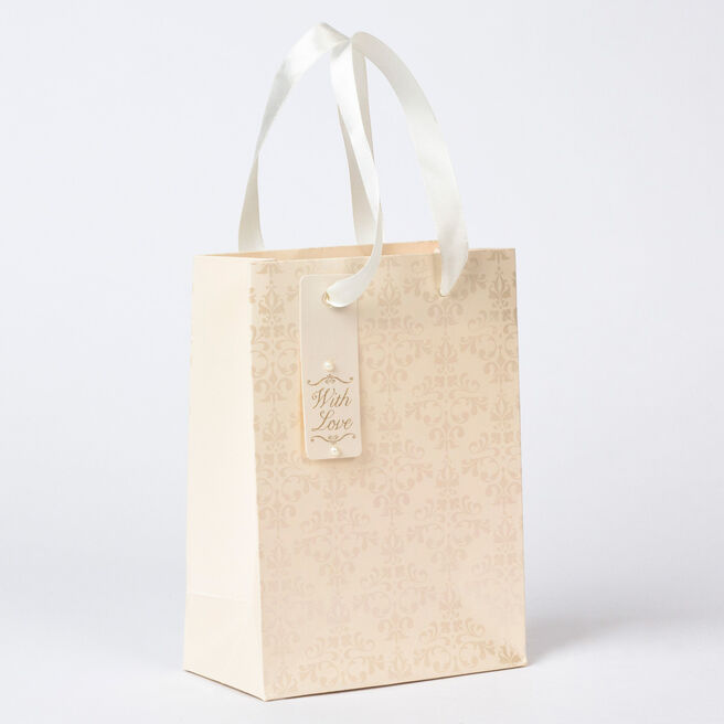 Pearl Pattern Small Gift Bag