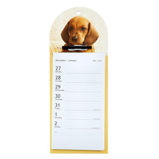 Hanging Tear-Off 2022 Dog Calendar