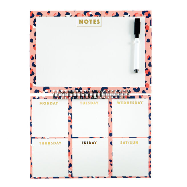 Wild Style Wipe-Clean Memo Planner & Pen