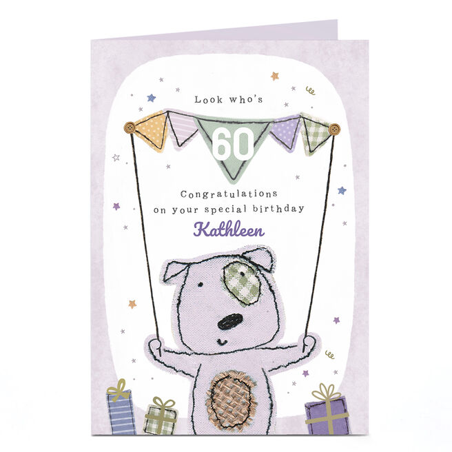 Personalised 60th Birthday Card - On Your Special Birthday