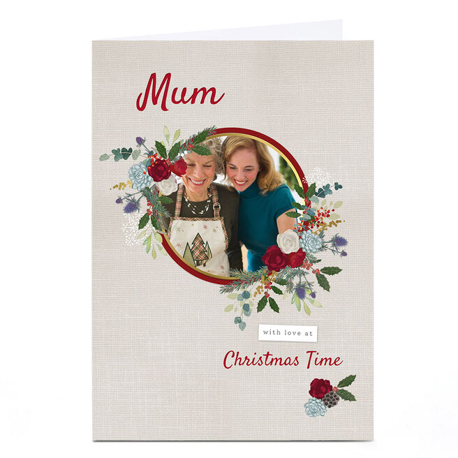 Photo Kerry Spurling Christmas Card - Mum Floral
