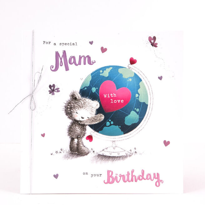 Boutique Collection Birthday Card - Mam Bear