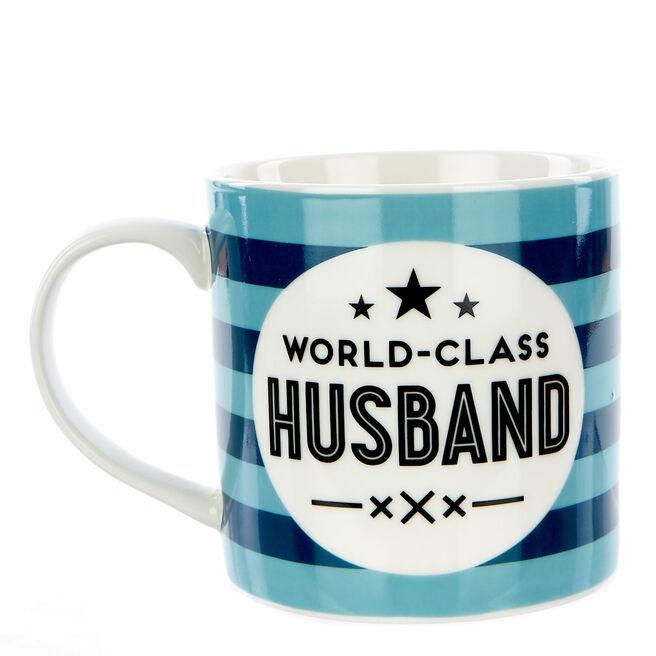 World-Class Husband Mug