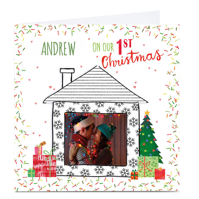 Photo Nik Golesworthy Christmas Card - 1st Christmas
