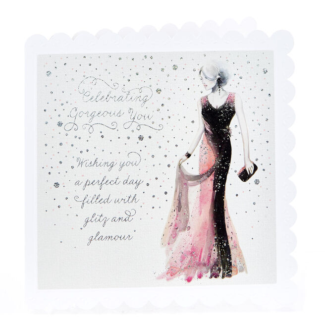 Blank Card - Celebrating Gorgeous You
