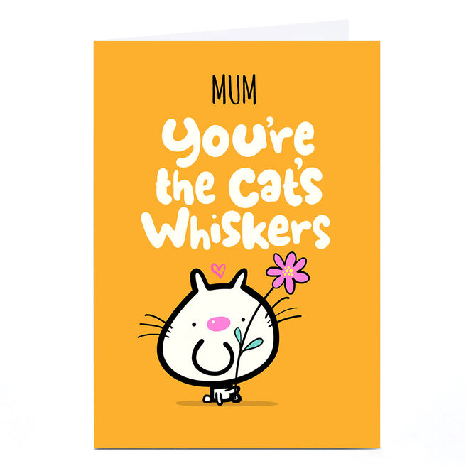 Personalised Fruitloops Mother's Day Card - Cat's Whiskers