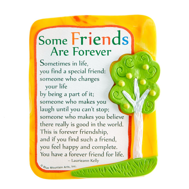 Blue Mountain Arts Magnet - Some Friends Are Forever