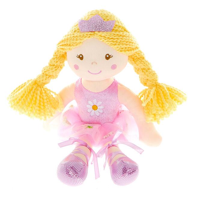 Ballet Princess Ragdoll Soft Toy