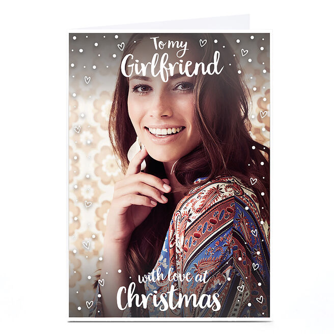 Photo Christmas Card - To My Girlfriend