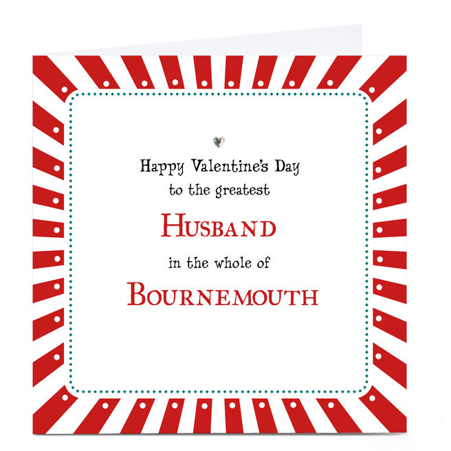 Personalised Valentine's Card - Any recipient