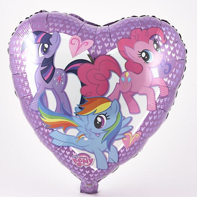 My Little Pony Foil Heart-Shaped Helium Balloon
