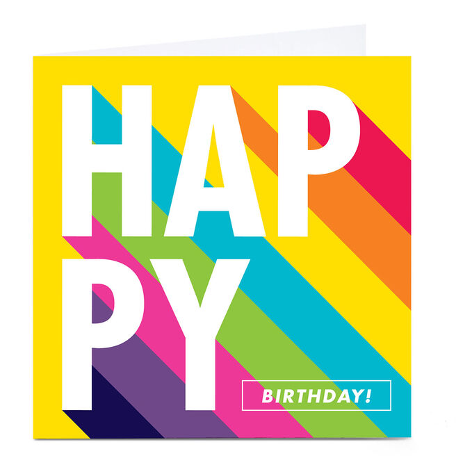 Personalised Hello Munki Birthday Card - Happy Birthday