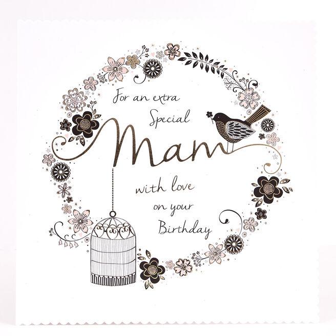 Platinum Collection Birthday Card - Special Mam