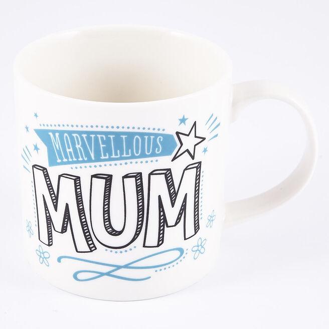 Marvellous Mum' Gift Mug