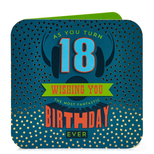 18th Birthday Card - As You Turn 18