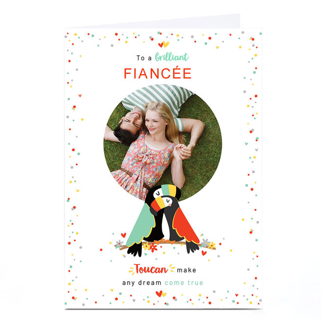 Photo Valentine's Day Card - Toucans