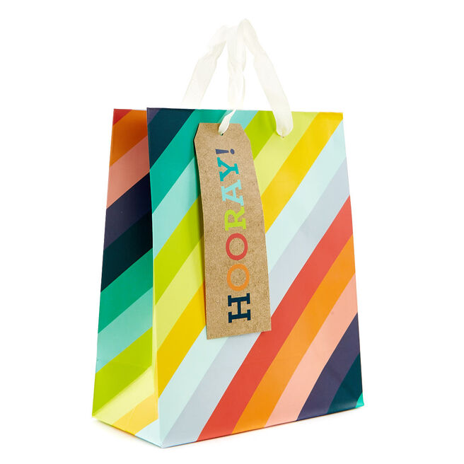 Small Rainbow Gift Bag - Hooray!