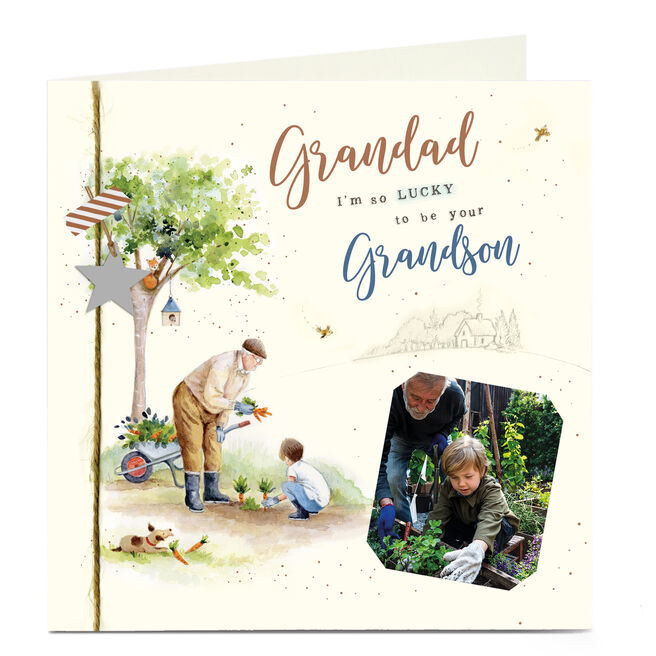 Photo Father's Day Card - Grandad From Grandson
