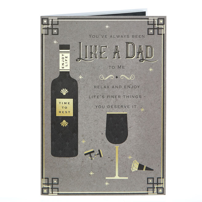 Father's Day Card - Always Been Like a Dad