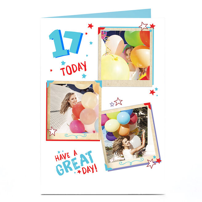 Photo Any Age Birthday Card - Have A Great Day