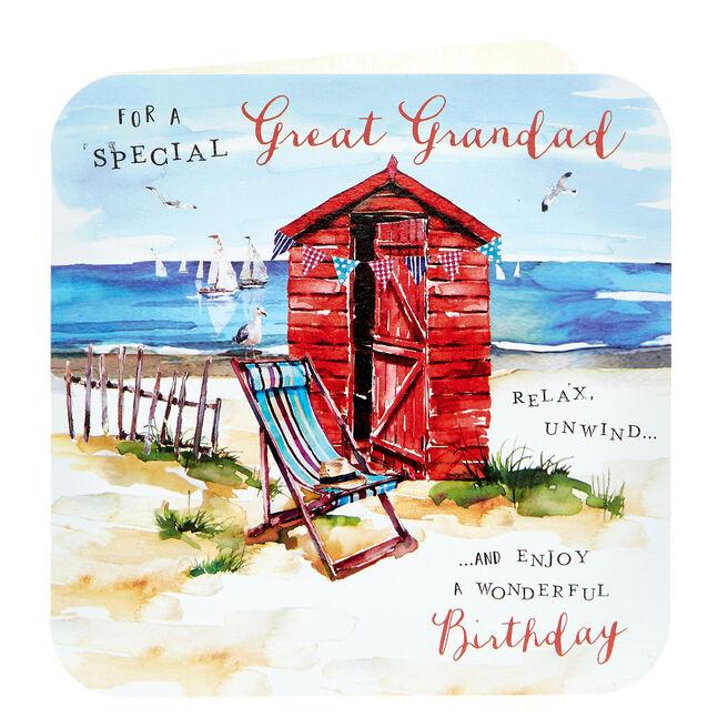 Birthday Card - Special Great Grandad
