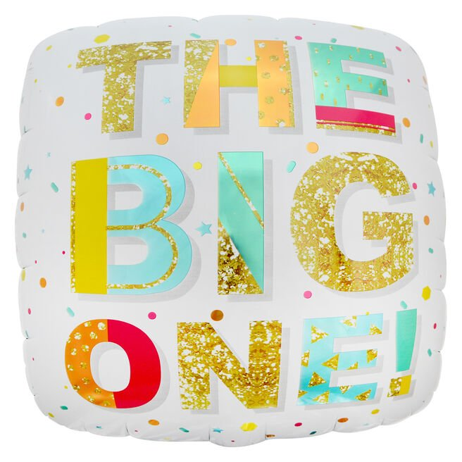 The Big One 31-Inch Foil Helium Balloon