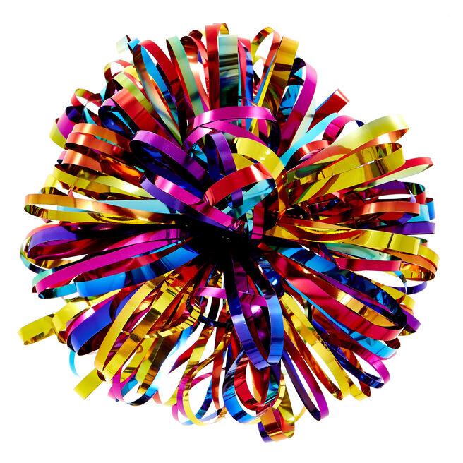 Luxury Rainbow Foil Gift Bow