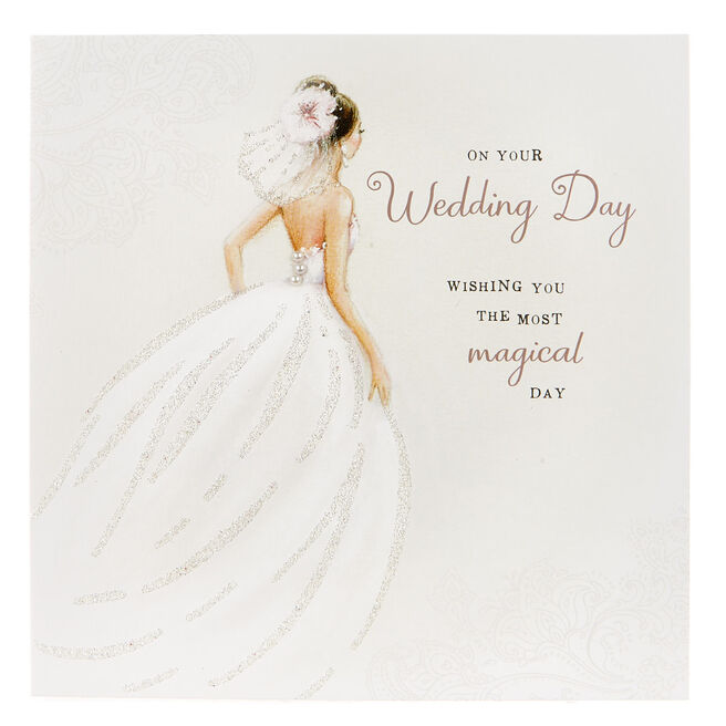 Boutique Collection Wedding Card - The Most Magical Day