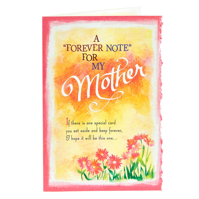 Blue Mountain Arts Card - Forever Note For My Mother